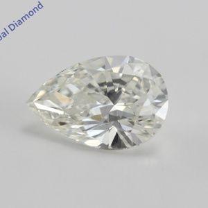 Pear Cut Loose Diamond 1.11 Ct WGI Cert C200242